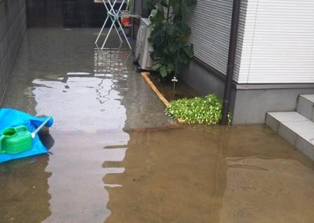 したら 床下 浸水